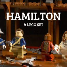 LEGO Hamilton Musical