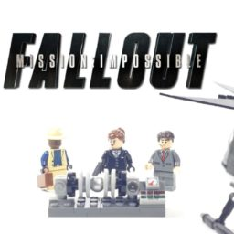 LEGO Mission Impossible 6 Helicopter Chase