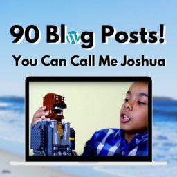 90 Blog Posts! 🎉